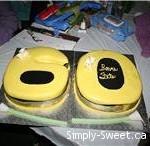 60 cake yellow