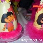 Dora hat & cake