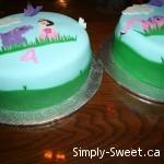 Princess cake - side