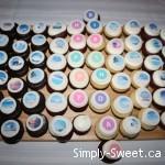 Sun & Ski cupcakes