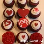 fondant valentine's day cupcakes