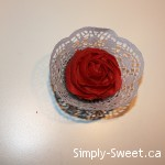 red rose with wrapper