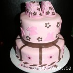 Baby Shower pink & brown