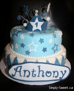 Montreal Boy Birthday Cake
