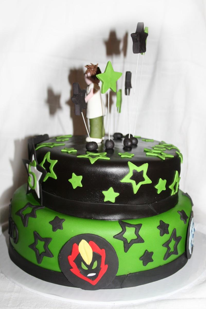 Ben 10 Birthday Cake Montreal Ben 10 Birthday Cake Montreal